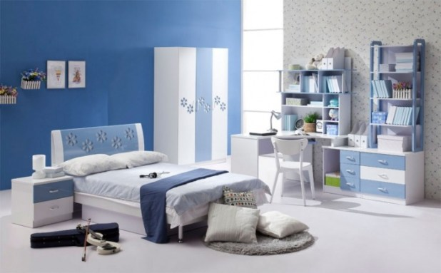 blue-white-colored-rooms What Are the Latest Home Decor Trends?