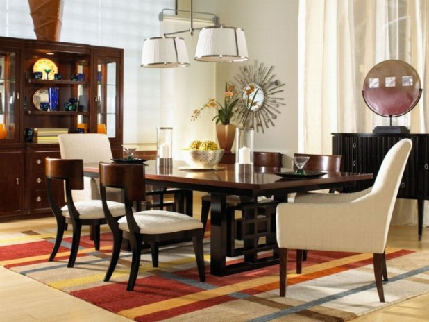 model-contemporary-dining-room-design-carls-furniture 45 Most Stylish and Contemporary Dining rooms
