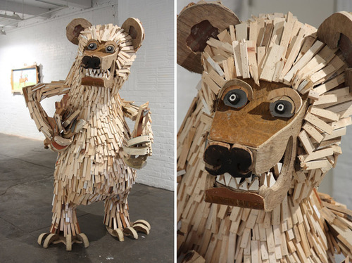 tumblr_miyxo1kMjT1qccpz7o1_500 24 Amazing Wooden Installations Art