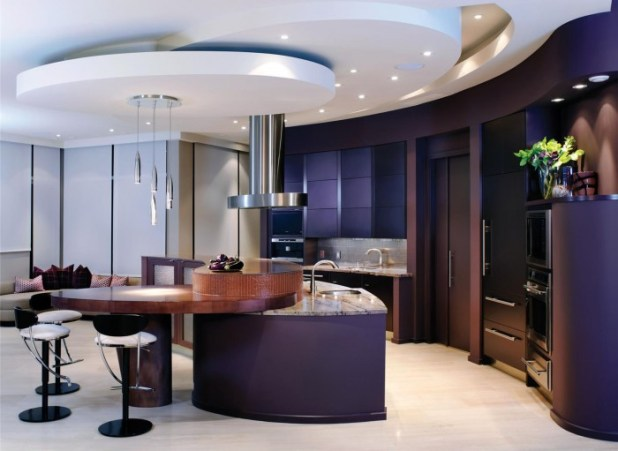Open-Contemporary-Kitchen-Design_1 45 Elegant Cabinets For Remodeling Your Kitchen