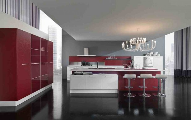 modern-kitchen-cabinets 45 Elegant Cabinets For Remodeling Your Kitchen