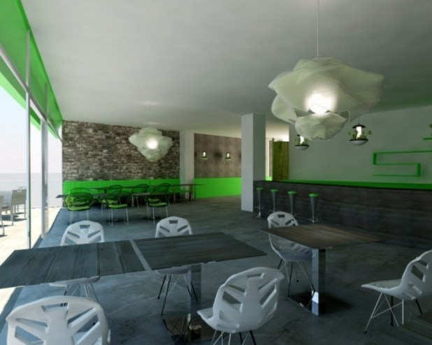 modern-restaurant-design-lime-green-white-gray-color-scheme-adorable-bar-and-restaurant-design-concepts-4320 Do You Dream of Starting and Running Your Own Restaurant Business?