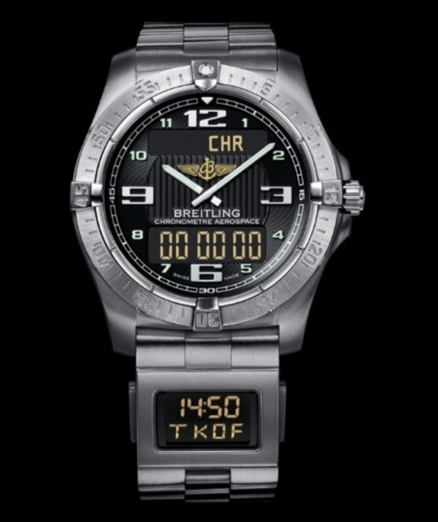 Breitling-Aerospace-watch Best 35 Military Watches for Men