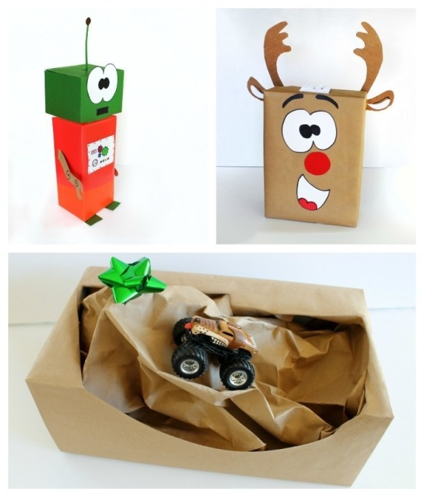 PicMonkey-Collage 40 Creative & Unusual Gift Wrapping Ideas