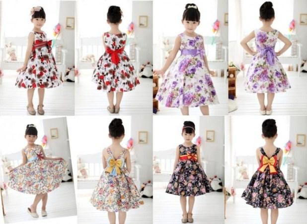 1-132 Kids Dresses for Summer 2014