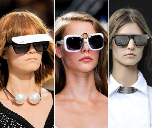 spring_summer_2014_eyewear_trends_diversified_styles_of_sunglasses1 2014 Latest Hot Trends in Women's Sunglasses
