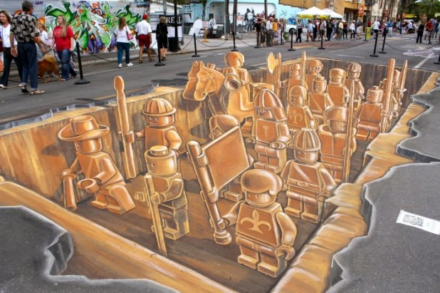 EgoA The Incredible Art of 3D Street Painting