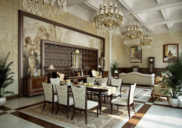 35-Breathtaking-Awesome-Dining-Room-Design-Ideas-2015-1 37 Breathtaking & Awesome Dining Room Design Ideas 2015