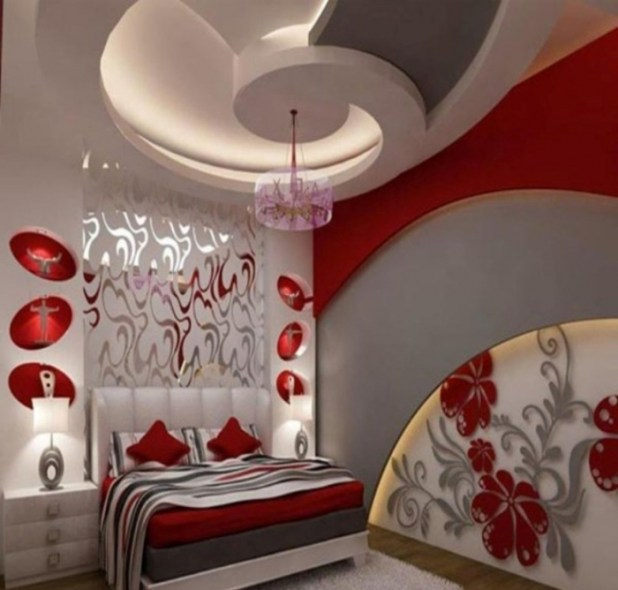 35-Dazzling-Catchy-Ceiling-Design-Ideas-2015-21 46 Dazzling & Catchy Ceiling Design Ideas 2015