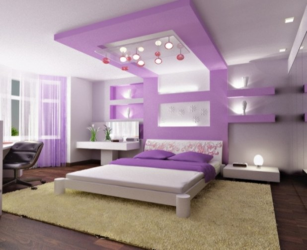 35-Dazzling-Catchy-Ceiling-Design-Ideas-2015-32 46 Dazzling & Catchy Ceiling Design Ideas 2015