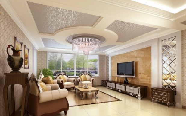 35-Dazzling-Catchy-Ceiling-Design-Ideas-2015-34 46 Dazzling & Catchy Ceiling Design Ideas 2015