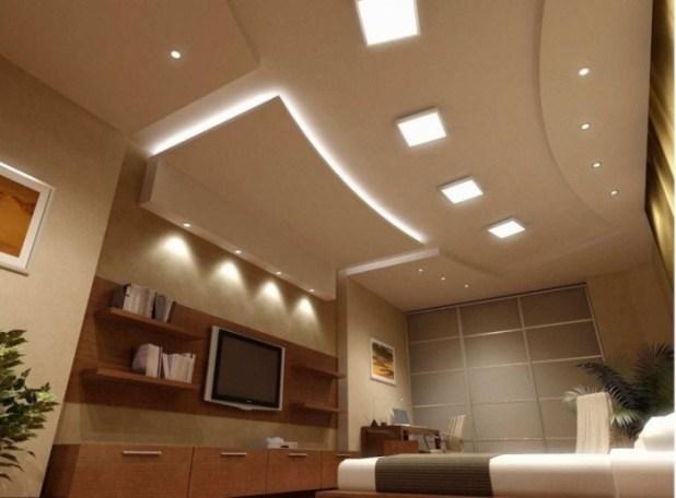 35-Dazzling-Catchy-Ceiling-Design-Ideas-2015-45 46 Dazzling & Catchy Ceiling Design Ideas 2015