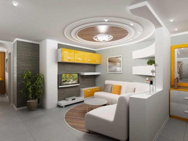 35-Dazzling-Catchy-Ceiling-Design-Ideas-2015-7 46 Dazzling & Catchy Ceiling Design Ideas 2015