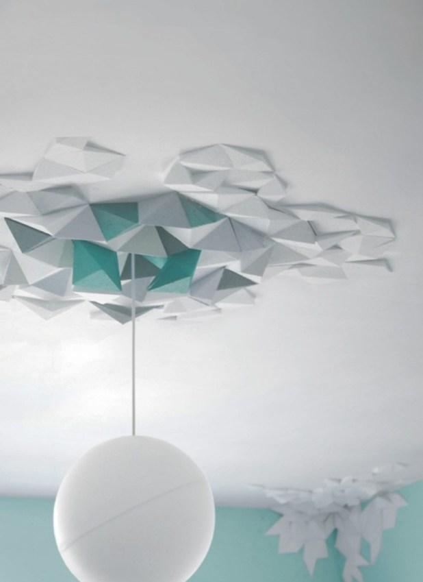 geometric-ceiling 46 Dazzling & Catchy Ceiling Design Ideas 2015