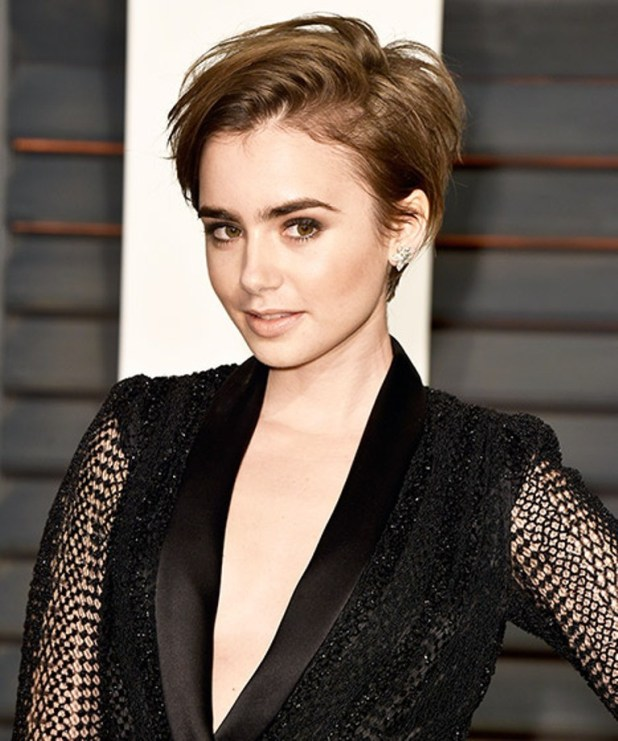 Lily-Collins The Worst Celebrity Hairstyles in 2015