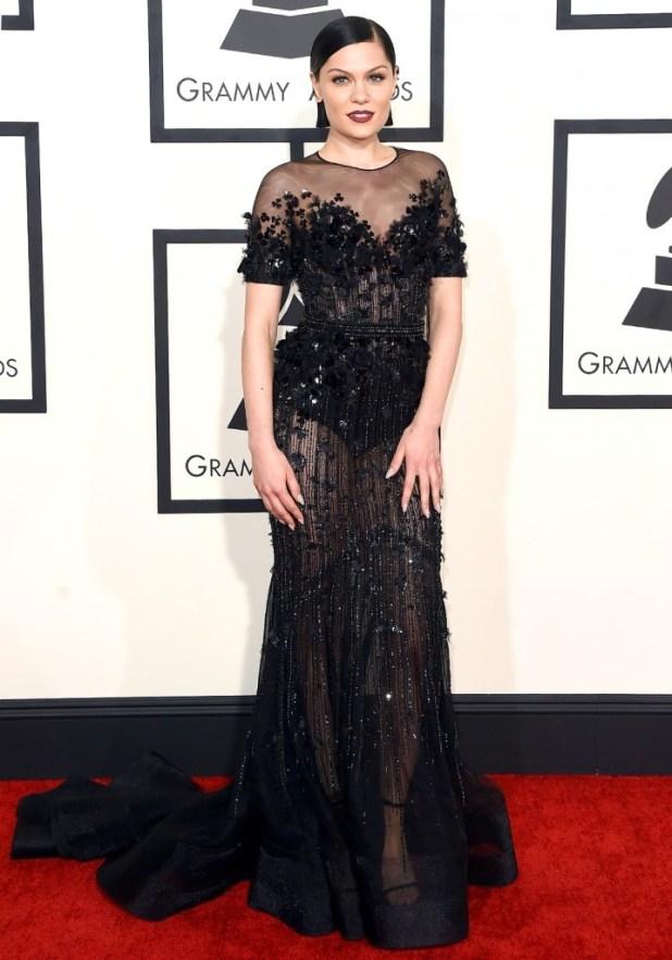 Singer-Jessie-J-in-Grammys-2015 The Worst Celebrity Hairstyles in 2015