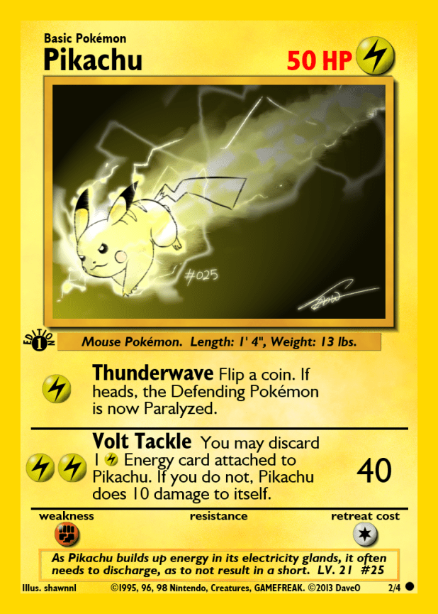 2_of_4_pikachu_custom_pokemon_card_by_iamthedaveo-d6i7lgj Top 10 World's Most Expensive Pokémon Cards 2015