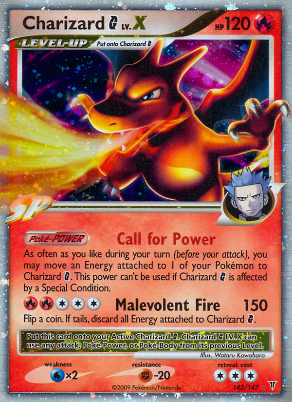 Charizard-G-LV.X-Supreme-Victors-SV-143 Top 10 World's Most Expensive Pokémon Cards 2015
