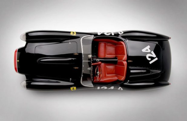 ferrari-250-testa-rossa-1957-overhead-view Top 10 Most Expensive Artifacts in the World