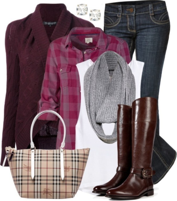fall-and-winter-outfits-2016-37 79 Elegant Fall & Winter Outfit Ideas 2016