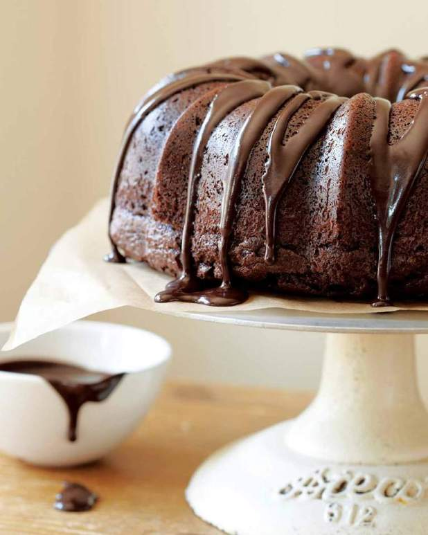 Chocolate-Truffle-Sour-Cream-Bundt-Cake-5 Easiest Chocolate Cake Recipe That Will Impress You ...
