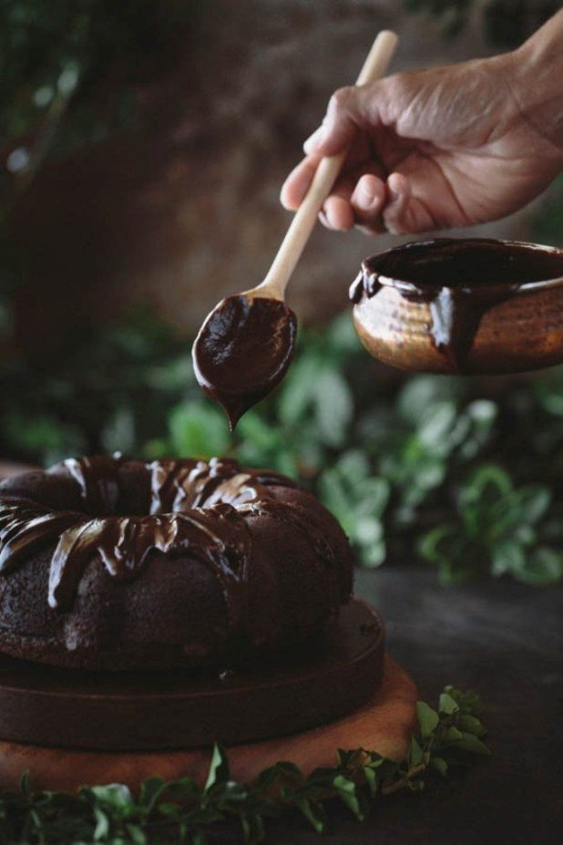 Chocolate-Truffle-Sour-Cream-Bundt-Cake-8 Easiest Chocolate Cake Recipe That Will Impress You ...
