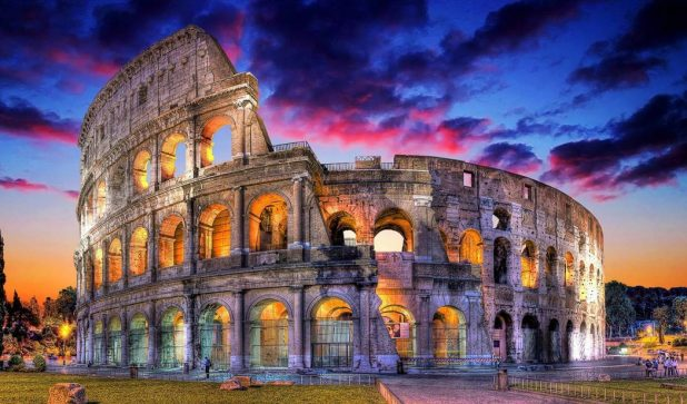 colosseum-at-sunset-wallpaper-3 Everyone Loves These 4 Tourist Attraction Places in Italy