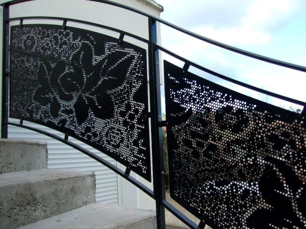 perforated-metal-sheet-ideas-27 63 Awesome Perforated Metal Sheet Ideas to Decorate Your Home