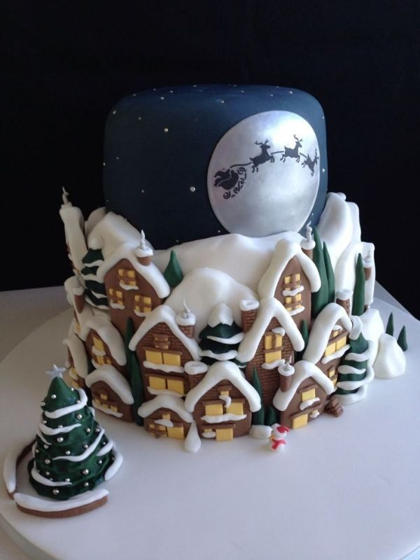 Christmas-Cake-Decoration-Ideas-2017-1 82 Mouthwatering Christmas Cake Decoration Ideas 2017