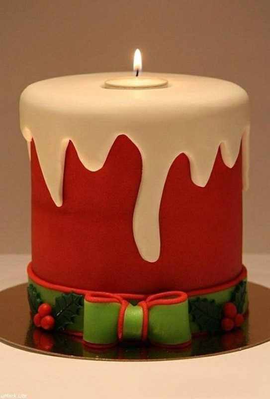 Christmas-Cake-Decoration-Ideas-2017-11 82 Mouthwatering Christmas Cake Decoration Ideas 2017