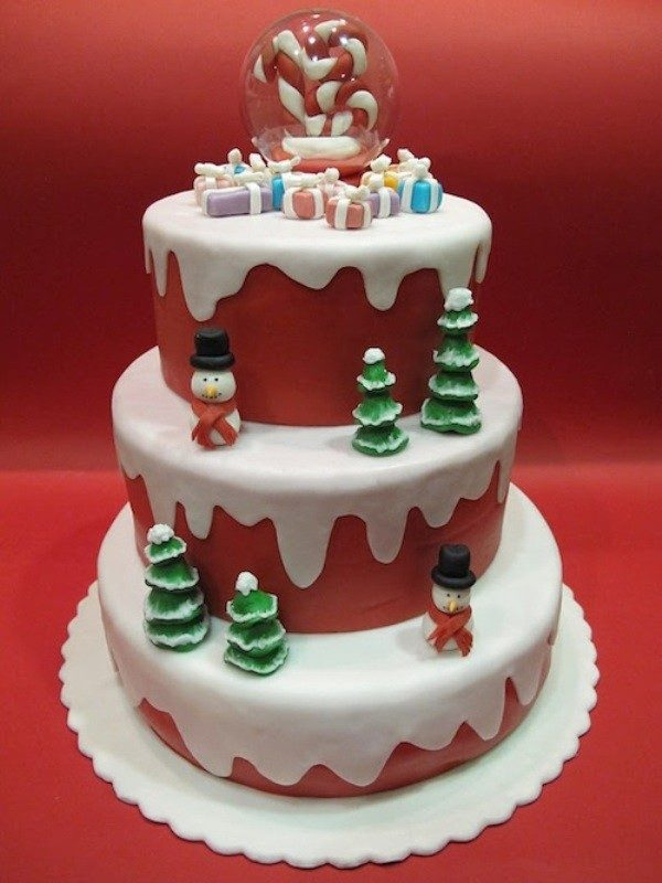 Christmas-Cake-Decoration-Ideas-2017-14 82 Mouthwatering Christmas Cake Decoration Ideas 2017