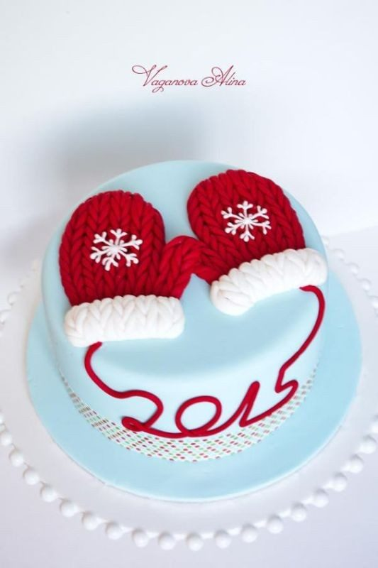 Christmas-Cake-Decoration-Ideas-2017-17 82 Mouthwatering Christmas Cake Decoration Ideas 2017