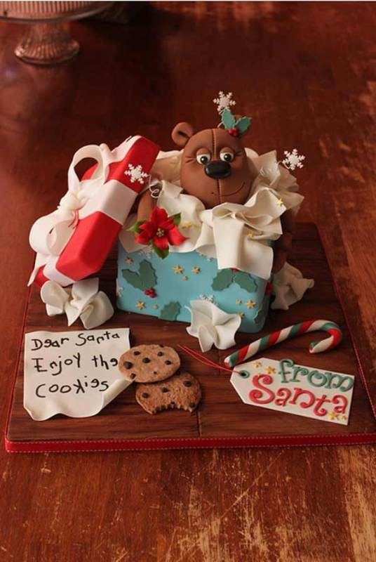 Christmas-Cake-Decoration-Ideas-2017-19 82 Mouthwatering Christmas Cake Decoration Ideas 2017