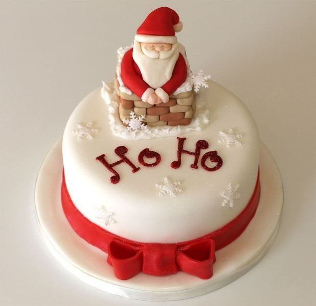 Christmas-Cake-Decoration-Ideas-2017-53 82 Mouthwatering Christmas Cake Decoration Ideas 2017