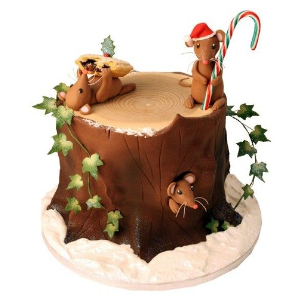 Christmas-Cake-Decoration-Ideas-2017-74 82 Mouthwatering Christmas Cake Decoration Ideas 2017