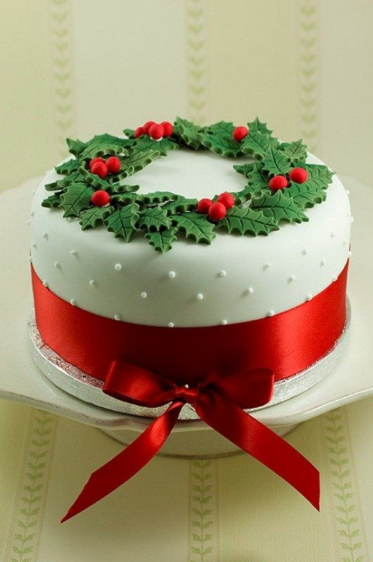 Christmas-Cake-Decoration-Ideas-2017-9 82 Mouthwatering Christmas Cake Decoration Ideas 2017