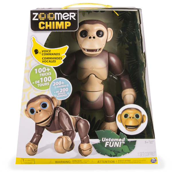 Zoomer-Chimp 20 Must Have Christmas Toys for Children 2017