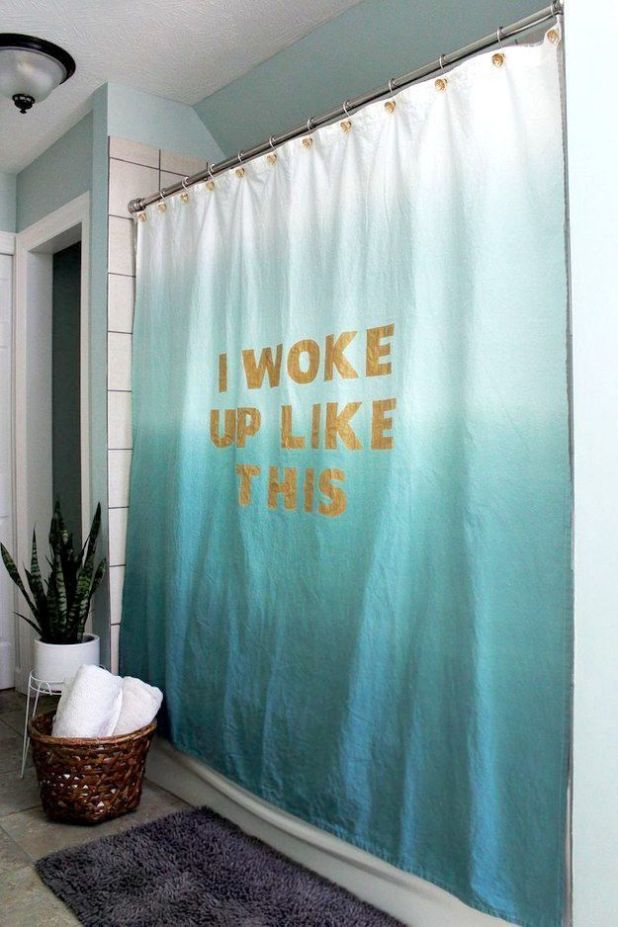 Favorite-Quotes-Curtain3 Easy And Creative Curtains Designs To DIY