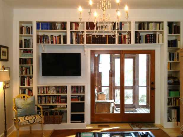 Library-Dominated-Room2-1 +20 Most Creative Designs For Living Rooms