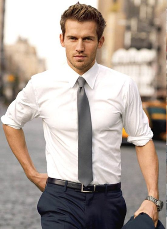 White-Plain-Shirt2 6 Trendy Weddings Outfit Ideas for Men