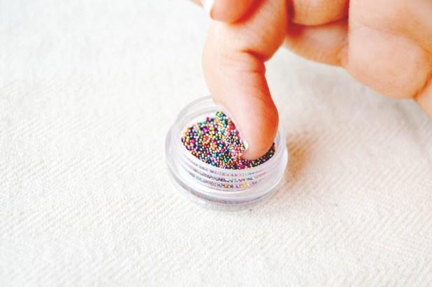 applying-caviar-nail-polish The Easiest Way to Apply Caviar Manicure