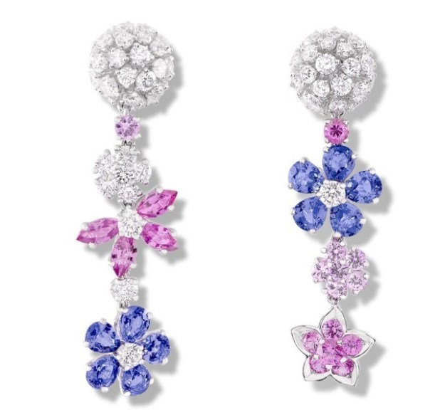 asymmetrical-earrings-that-do-not-match-each-other-in-shape-color-size-or-arrangement 23 Most Breathtaking Jewelry Trends in 2017
