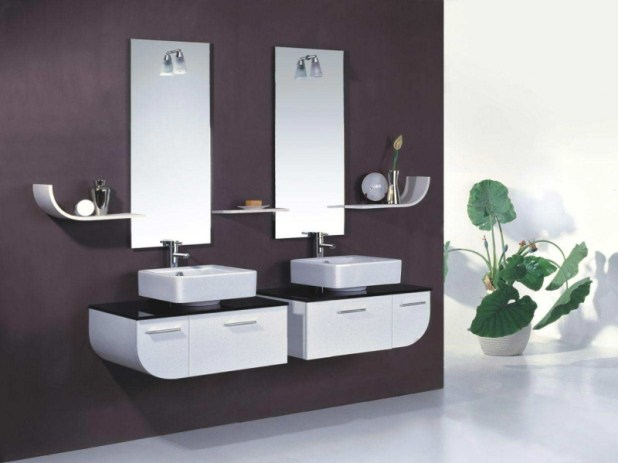 His-and-hers-mirrors7-675x506 27+ Trendy Bathroom Mirror Designs of 2017