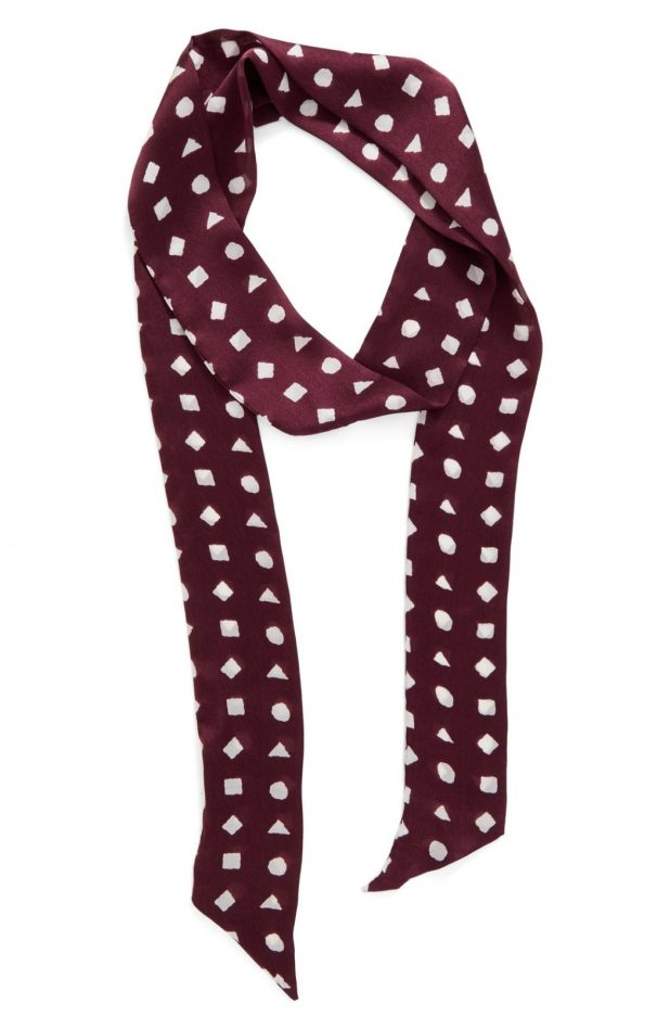 Vince-Camuto-Preppy-Geo-Scarf2 22 Scarf Trend Forecast for Fall & Winter 2017