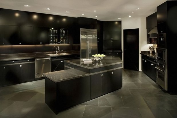 black-kitchen-decor-1-675x450 20+ Hottest Home Decor Trends for 2017