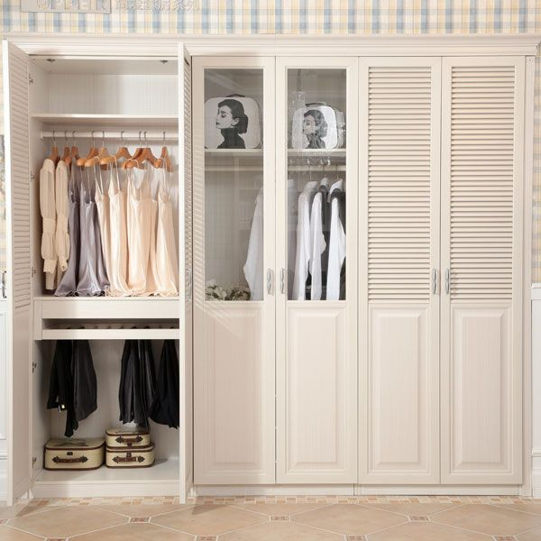 slatted-door-wardrobe9 6 Brilliant Designs of Bedroom Wardrobes