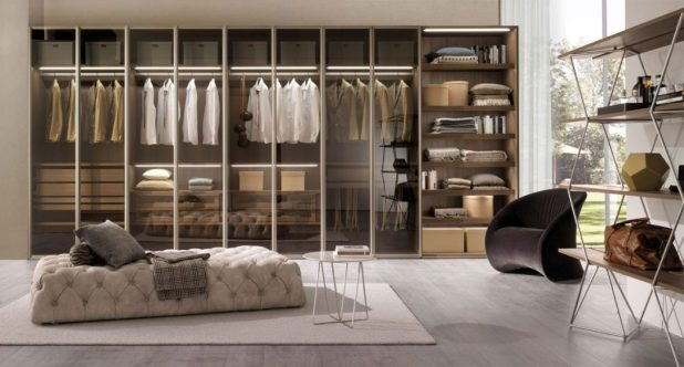 transparent-glass-wardrobe2-675x363 6 Brilliant Designs of Bedroom Wardrobes