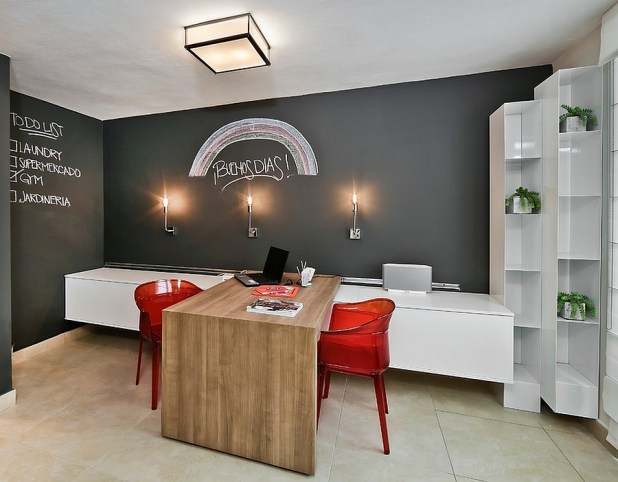Chalkboard-Walls1 8 Office Decoration Designs For 2017