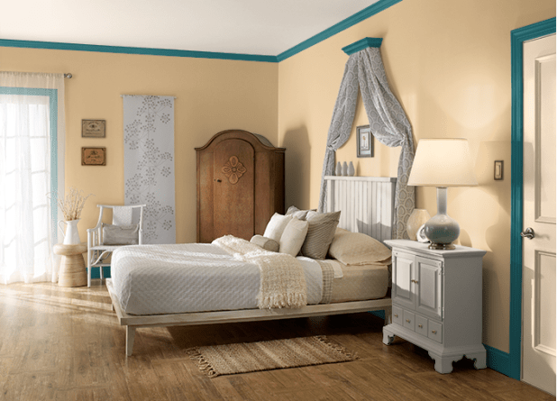 Colden-Hearted-of-behr-2017-675x486 25+ Orange Bedroom Decor and Design Ideas for 2017