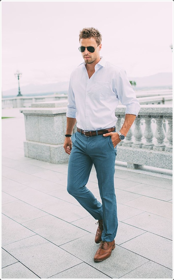 Colored-Trousers3 6 Trendy Weddings Outfit Ideas for Men